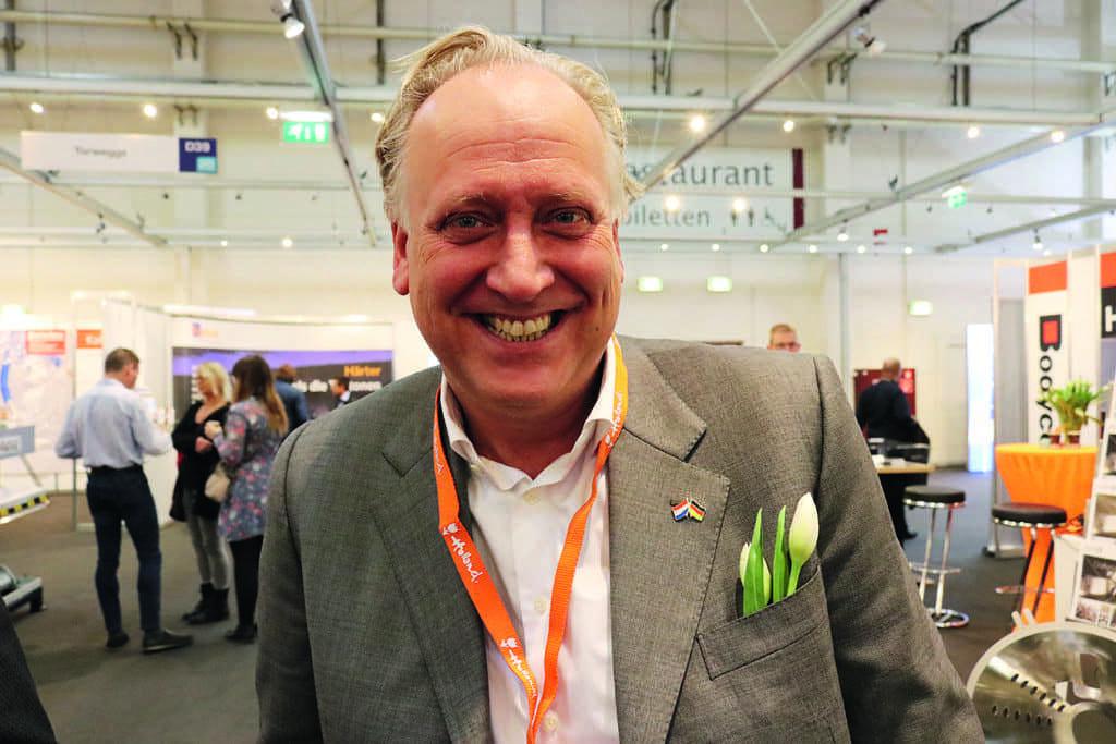 Paul Verlinden van de Koninklijke Metaalunie over de Kickstartvoucher voor de export